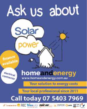 Ask us about Solar Power 
