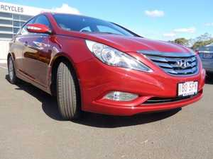 2012 Hyundai i45 YF MY11 Elite Red 6 Speed Automatic Sedan