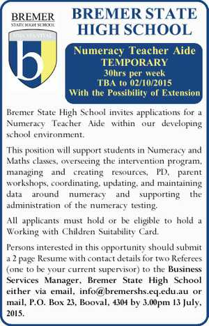 BREMER STATE HIGH SCHOOL