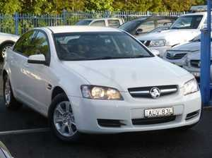 2008 Holden Commodore VE MY09 Omega Heron White 4 Speed Automatic Sedan