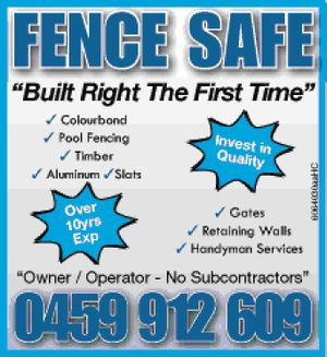 FENCE SAFE 