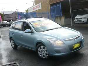 2010 Hyundai i30 FD MY11 SLX cw Wagon Blue 4 Speed Automatic Wagon
