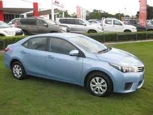 2014 Toyota Corolla ZRE172R Ascent Blue 7 Speed CVT Auto Sequential Sedan
