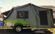 Hard floor off/road camper with annex,   Great condition & price