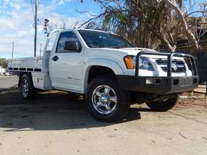 2010 Holden Colorado RC MY10 DX (4x4) White 5 Speed Manual Cab Chassis