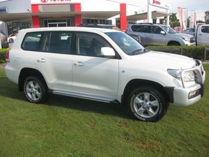 2011 Toyota Landcruiser VDJ200R Altitude SE White 6 Speed Automatic Wagon