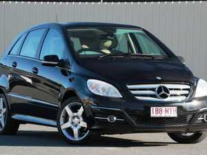 2010 Mercedes-Benz B200 W245 MY10 Turbo Black 7 Speed Constant Variable Hatchback