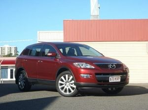 2008 Mazda CX-9 TB10A1 Luxury Copper Red/black L 6 Speed Sports Automatic Wagon