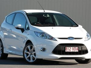 2010 Ford Fiesta WS Zetec White 5 Speed Manual Hatchback