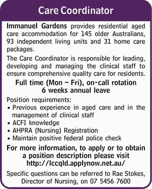 Care Coordinator 