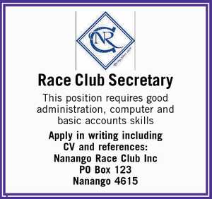 This position requires good administration, computer and basic accounts skills