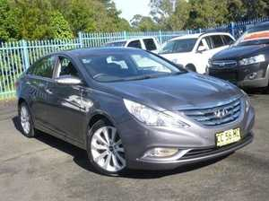 2011 Hyundai i45 YF MY11 Premium Dark Grey 6 Speed Sports Automatic Sedan