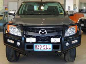 2012 Mazda BT-50 GT (4x4) Grey 6 Speed Manual Dual Cab Utility