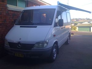 2002 Merc Sprinter Campervan