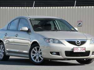 2006 Mazda 3 BK10F2 Maxx Sport Gold 5 Speed Manual Sedan