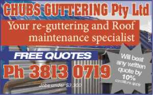 Your re-guttering and Roof maintenance specialist 