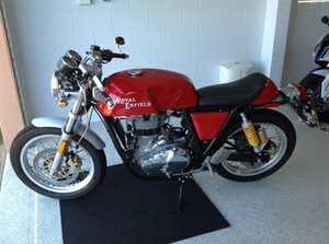 2014 Royal Enfield Continental GT,     rego 31/12/15,  2000klm,  Immaculate condition.  Yeppoon.   $8200