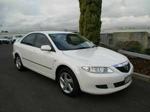 2002 Mazda 6 GG1031 Classic White 4 Speed Sports Automatic Hatchback