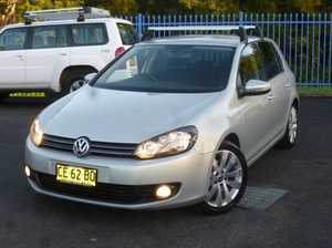 2010 Volkswagen Golf VI MY10 103TDI Comfortline 6 Speed Manual Hatchback