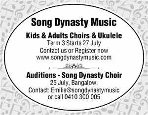 Kids & Adults Choirs & Ukulele