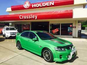 2008 Holden Commodore VE SV6 Green 6 Speed Manual Sedan