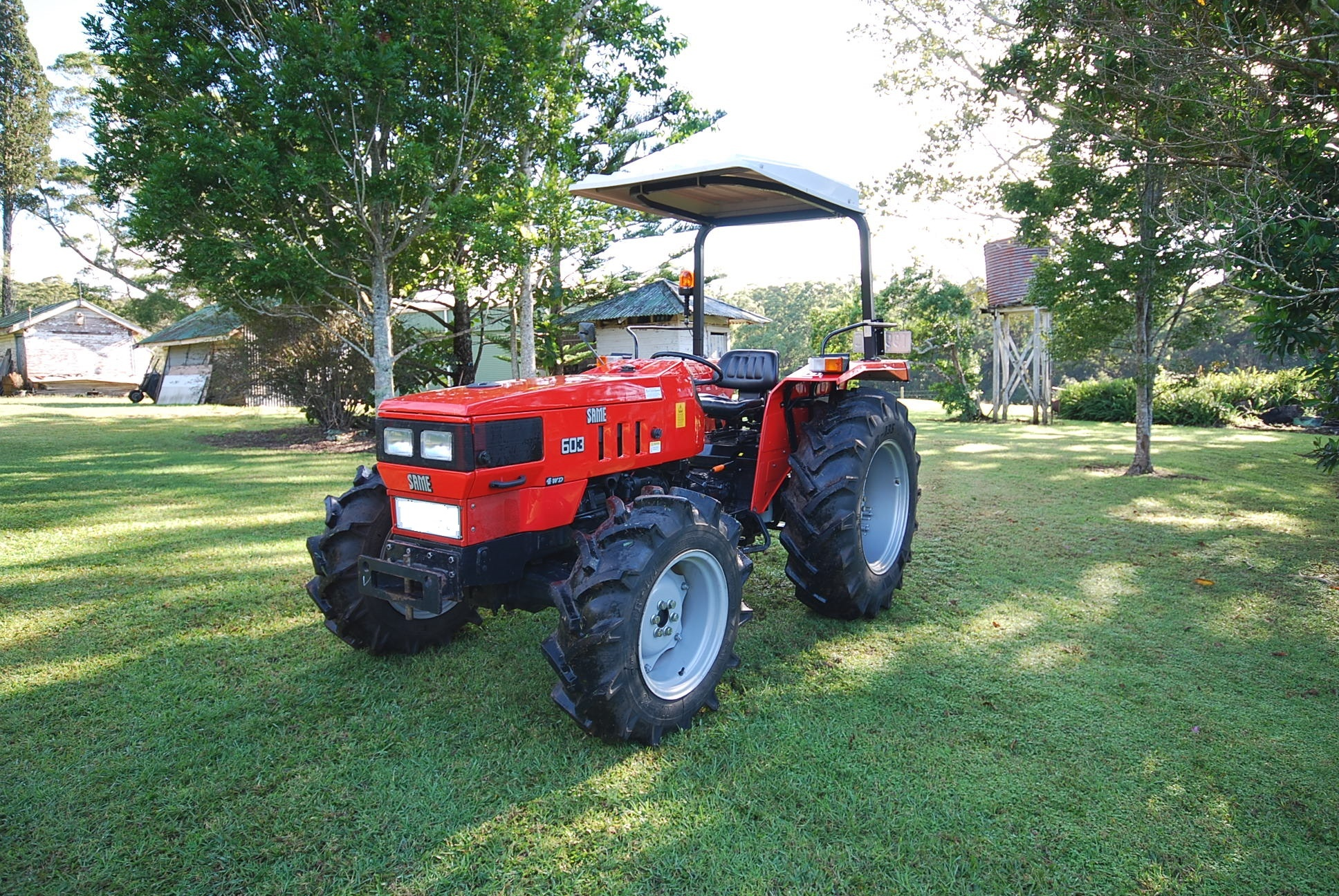 SAME Commando tractor 520 hrs 4WD Excellent Cond. $17,900 Ph: 0419 28 8891
