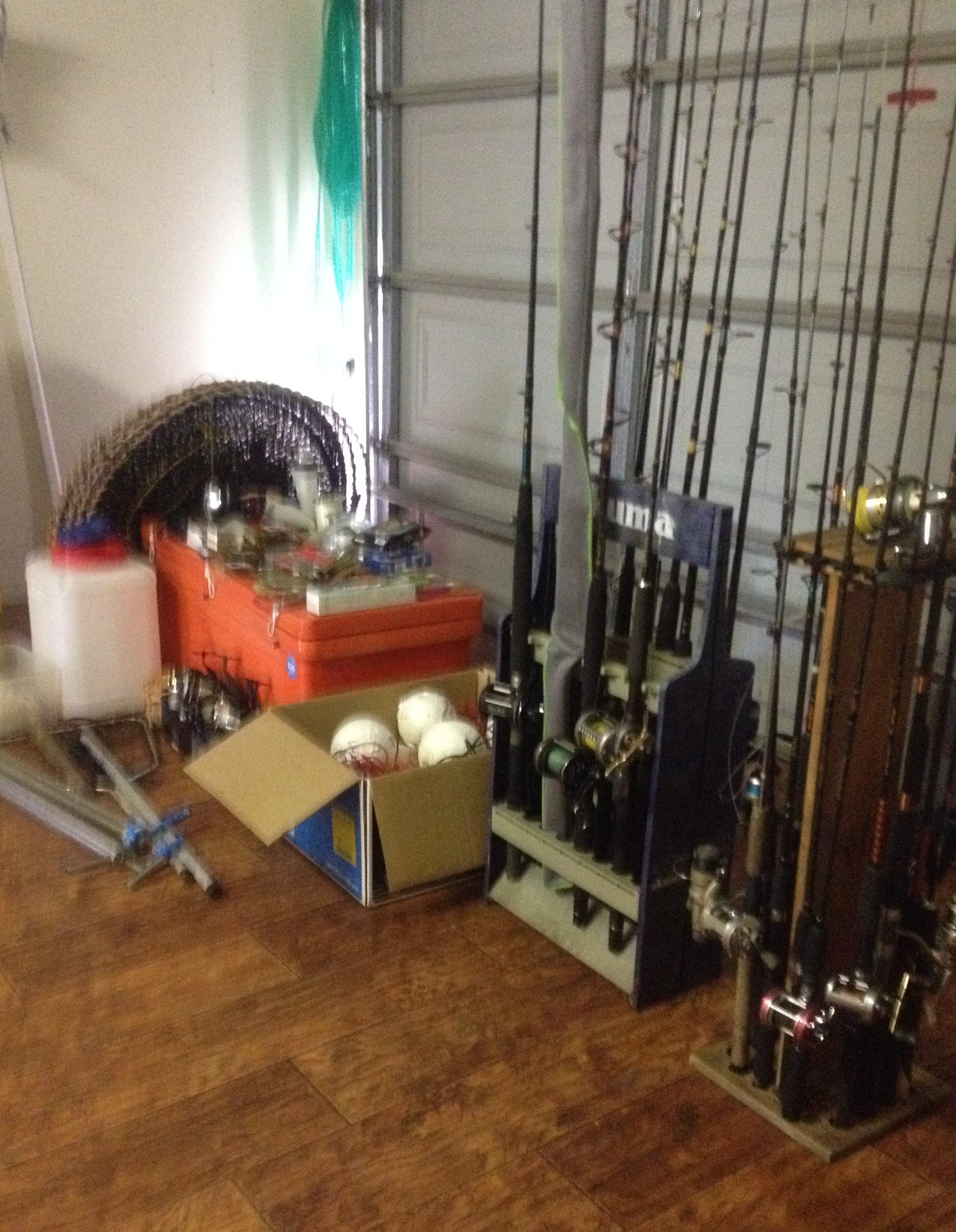 Moving away - Everything must go Huge selection of Fishing rods and tackle Eskies Kitchen appliances Crockery Glasses Cutlery Electric tools Hand held tools Bottles and drums for home brewing spirits Gardening tools Chainsaws Shed shelving Swags and lots more
