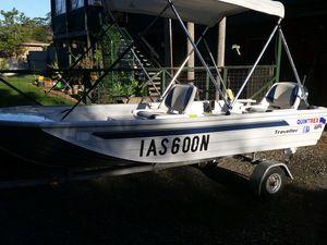 3.75m Quintrex 'Traveller'  Aluminium Boat
