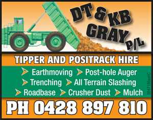 TIPPER AND POSITRACK HIRE.