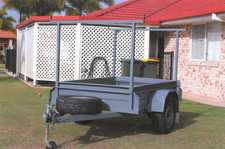 New 6x4 Box Trailer