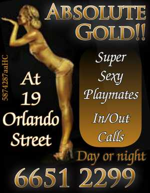 Super sexy playmates. In/out calls day or night. At 19 Orlando Street.