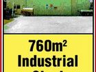 760m2 Industrial Shed