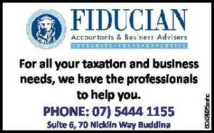 Suite 6, 70 Nicklin Way Buddina  For all your taxation and business needs,   we have the professionals to help you.