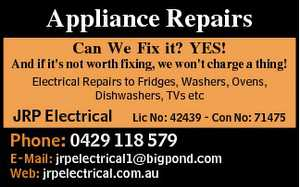 Can We Fix it? YES! And if it's not worth fixing, we won't charge a thing!