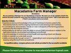 Macadamia Farm Manager