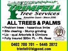 TRIMFELL TREE SERVICES