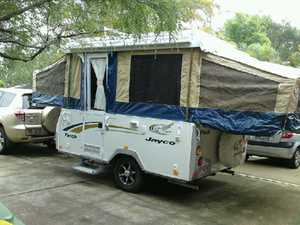 2010 Poptop,   roof racks,   pull out awning,   bed flys plus 1extra fly,   gas/electric stove and fridge   electric brakes,   power aux,   VGC. $18,500. Ph 0403471110