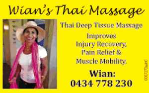 Thai Deep Tissue Massage