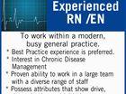 Experienced RN /EN