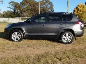 2008 Toyota RAV4 ACA33R MY09 Cruiser Grey 5 Speed Manual Wagon