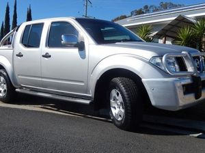 2008 Nissan Navara D40 ST-X Silver 6 Speed Manual Utility