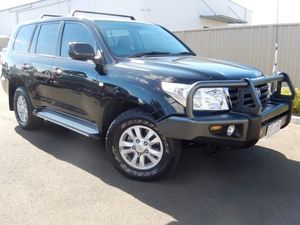 2008 Toyota Landcruiser VDJ200R GXL Black 6 Speed Auto Seq Sportshift Wagon