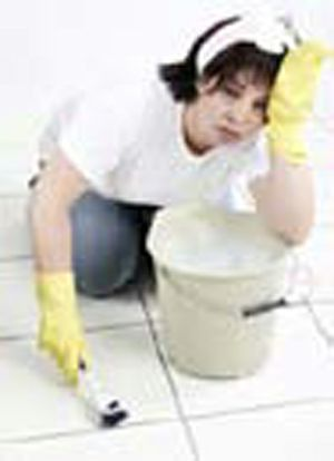 DIRTY TILES AND GROUT?