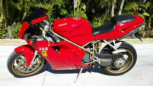 IMMACULATE    2000 model 748R Ducati    had major service l000 kms ago  as well as new tyres & battery   $11,990 neg   Phone 0412663629