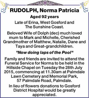 Aged 92 years
