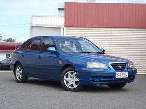 2005 Hyundai Elantra XD MY05 Blue 4 Speed Automatic Hatchback