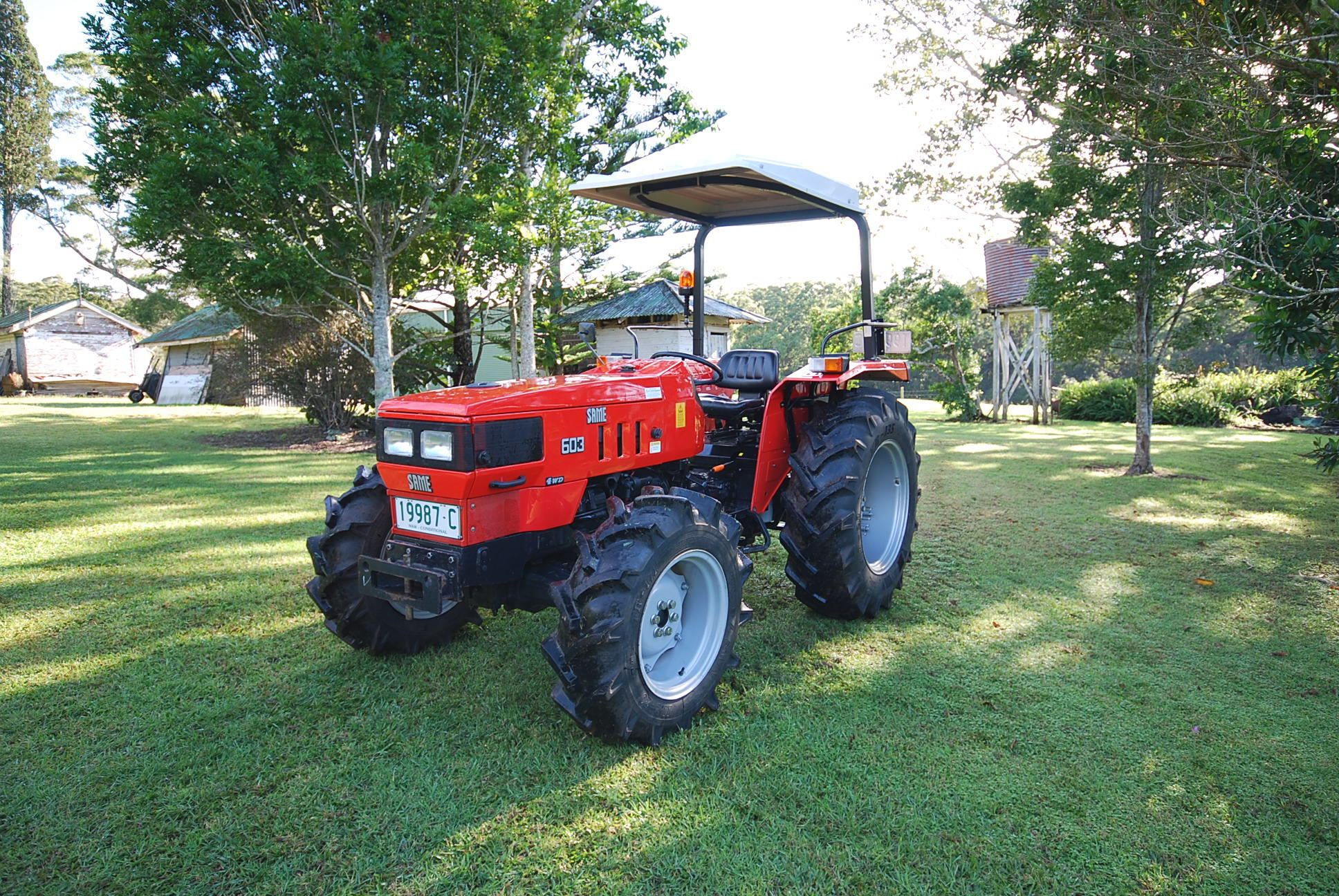 Same 4WD 55HP 522hrs Excel. Cond.