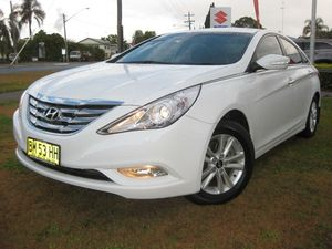 2011 Hyundai i45 YF MY11 Active White 6 Speed Automatic Sedan