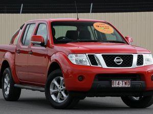2014 Nissan Navara D40 S7 ST 4x2 Red 6 Speed Manual Utility