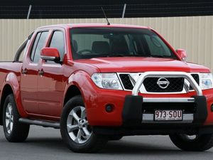 2012 Nissan Navara D40 S6 MY12 ST Flame Red 6 Speed Manual Utility
